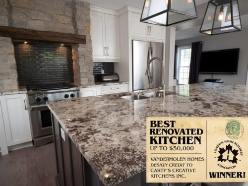Best Renovated Kitchen up to $50,000 - Winner